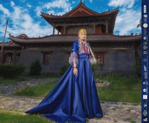 Monalun - Silk Road 2017 Fashion show (op terrein Choijin Lama Tempel)